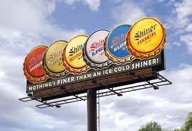shiner beer sign ending